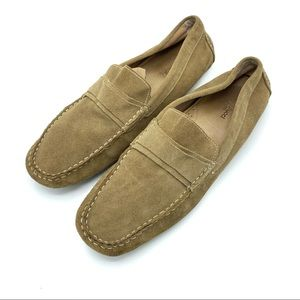 Bacco Bucci suede leather dress shoes 12